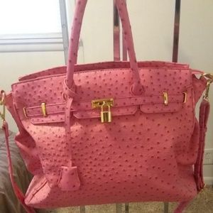Just Fab Pink Law Bag
